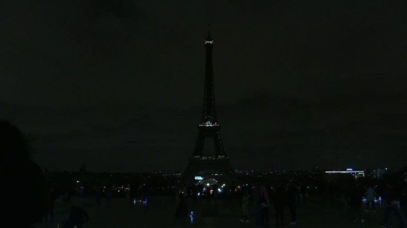 Eiffel tower goes dark in tribute to Christchurch, NZ victims