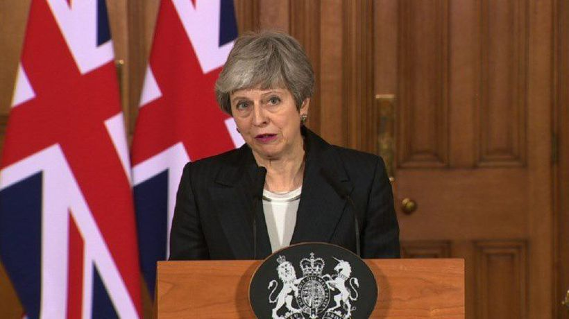 Theresa May: UK will not leave on time with a deal