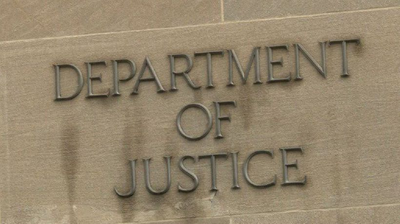 Images of Department of Justice after Mueller submits report