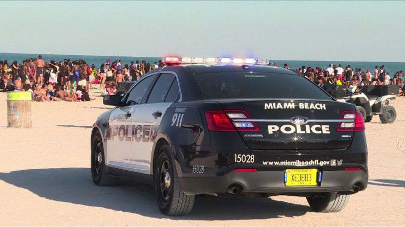 Security reinforced during Miami Beach's spring break