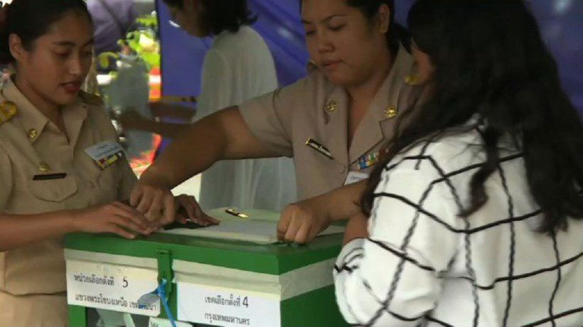 Polls close in Thailand's first election since 2014 coup
