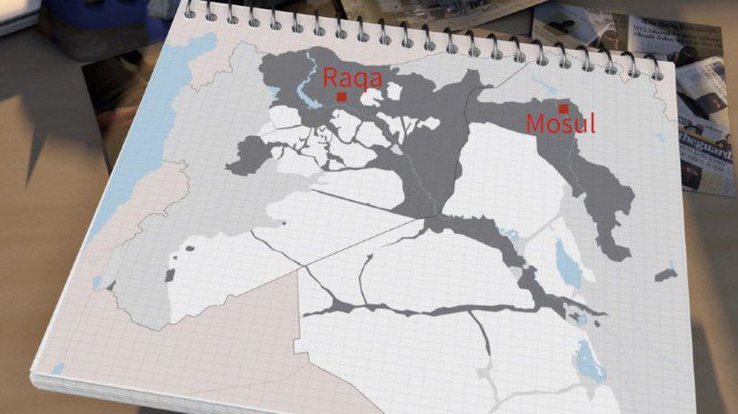 "Rise and fall of the Islamic State group's ""caliphate"""