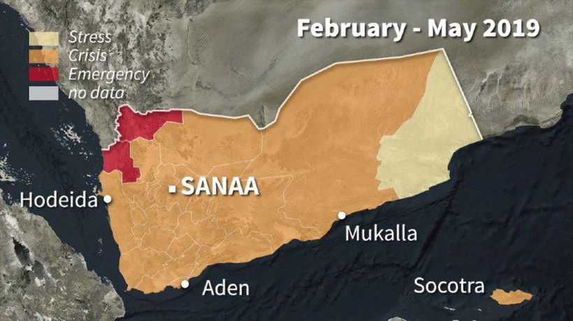Risk of famine in Yemen