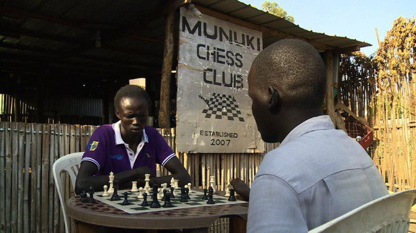 Chess, the war game building bridges in South Sudan