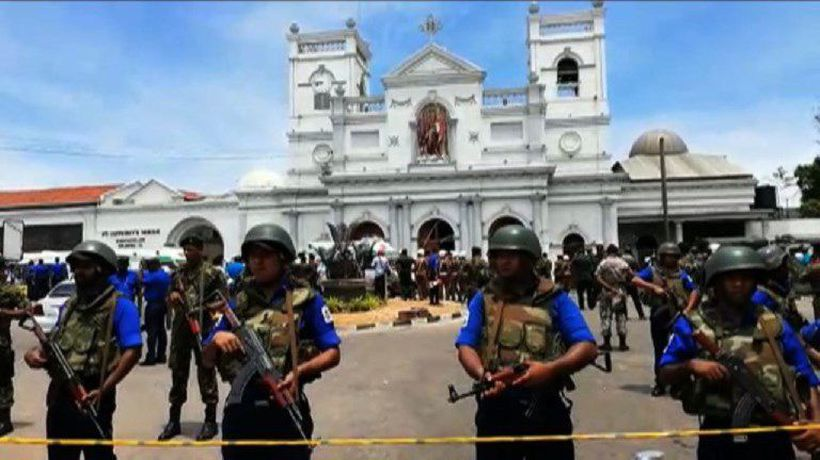 Emergency response on scene as blasts hit Sri Lanka churches
