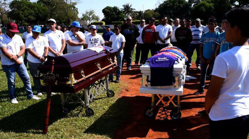 Funeral held for 13 killed at Mexican party