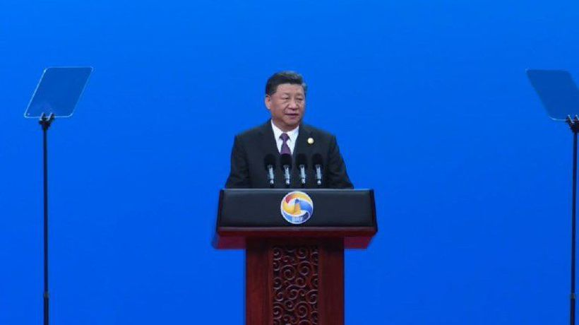 China's Xi opens Belt and Road summit opening