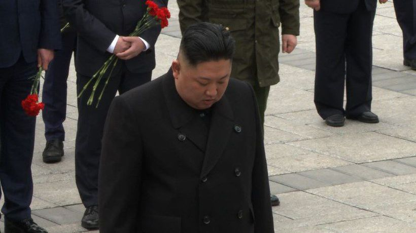 Will he? Won't he? N.Korea's Kim late for Vladivostok ceremony