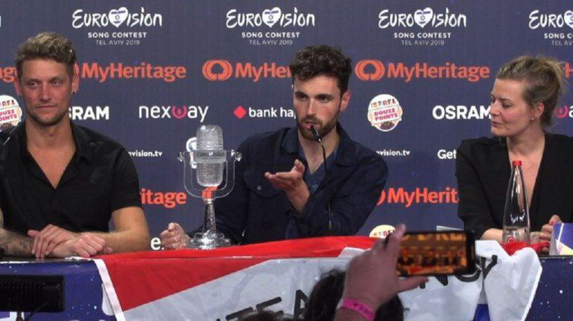 Eurovision winner: 'Accept people and love each other'