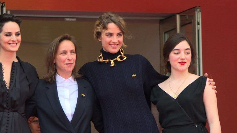 "Cannes: Red carpet for ""Portrait of a Lady on Fire"""