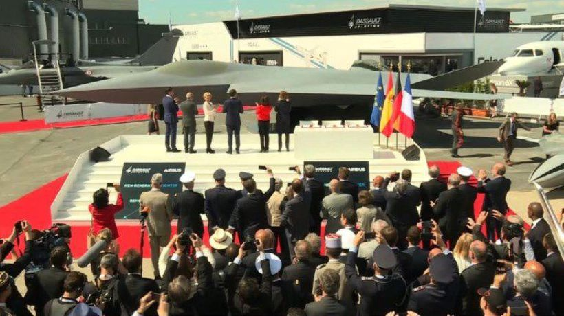 Europe unveils its next-generation combat jet at Paris Air Show