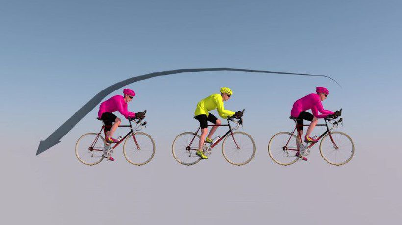 Aerodynamics in cycling