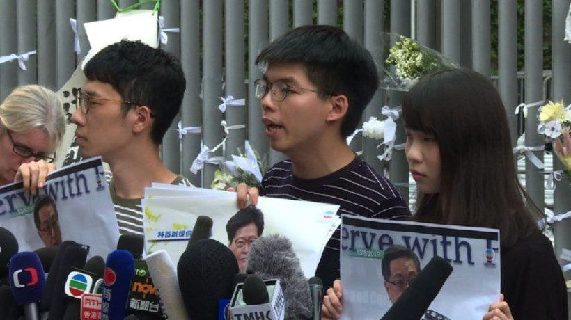 Joshua Wong predicts more protests after HK leader apologises