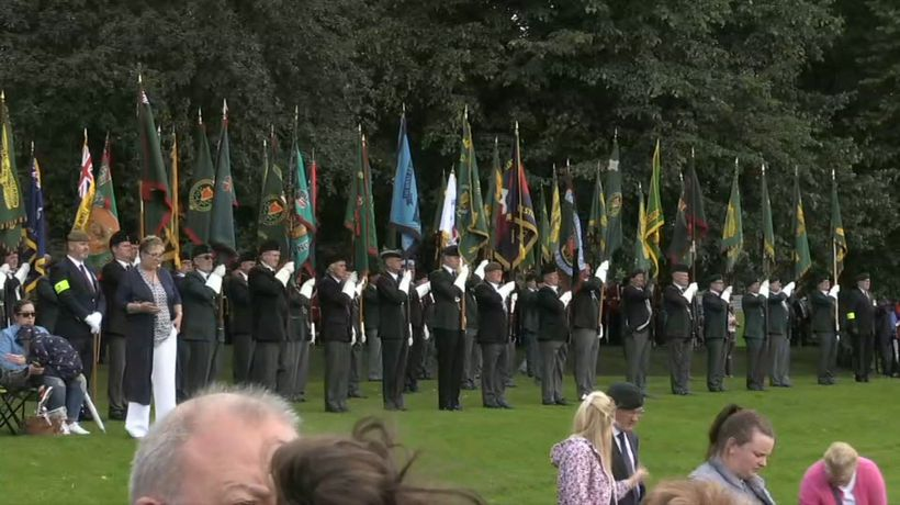 Veterans mark 50th anniversary of British army's N. Ireland mission