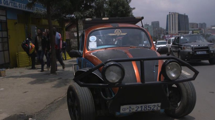 The 'pimped-out' Volkswagen Beetles of Ethiopia