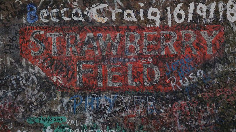 Let me take you down: Strawberry Field opens to public