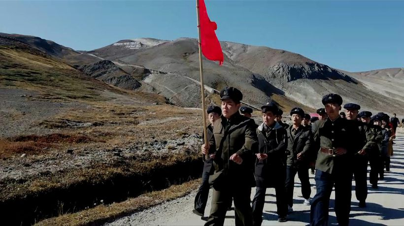 Among the believers in North Korea's 'holy land'