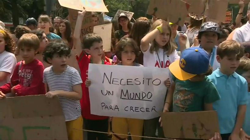 Fridays for Future: Climate strike in the Mexican capital
