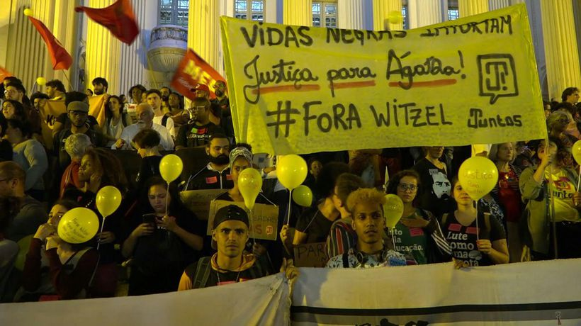 'Stop killing us' : Brazilians protest against police violence in favelas