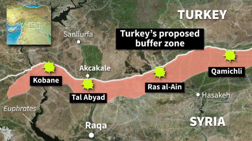 Turkish operation in northern Syria