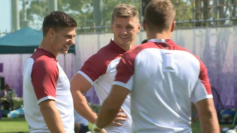 Rugby World Cup: England gear up for Aussie clash