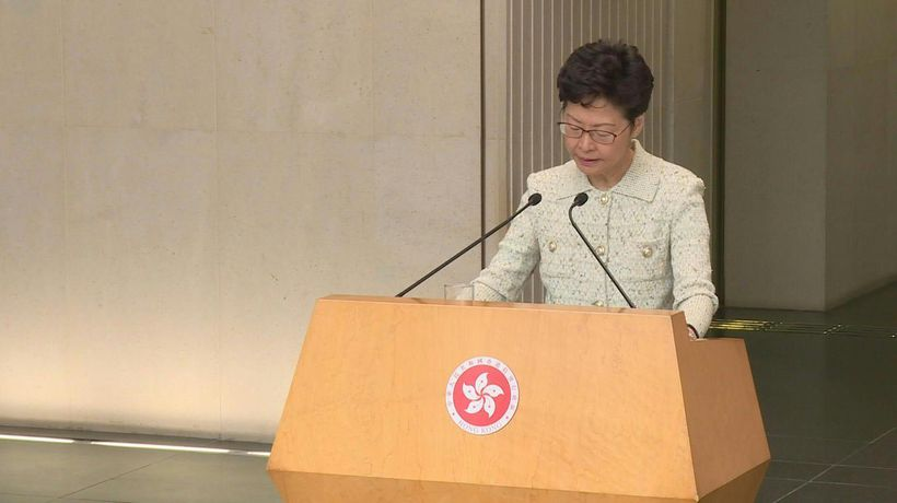 Hong Kong leader slams US senator for 'police state' remark