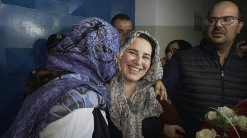 Moroccan journalist jailed for abortion freed after royal pardon