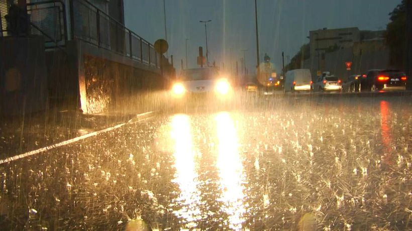 Heavy rains cause damage in southern French city of Béziers