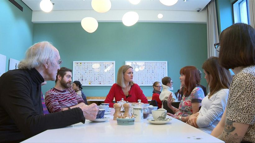 "In London, a ""death cafe"" gives people safe space to discuss the finality of death"