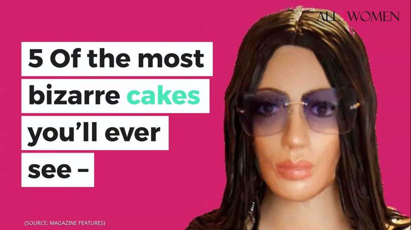 5 of the most bizarre cakes you'll ever see