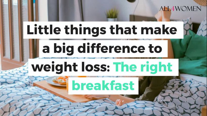 Little things that make a big difference to your weight loss: The right breakfast
