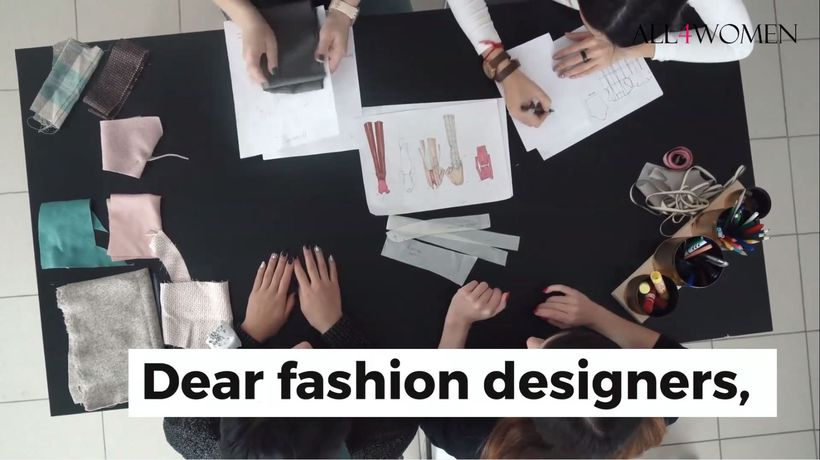 Dear fashion designers, this is what women really want from you