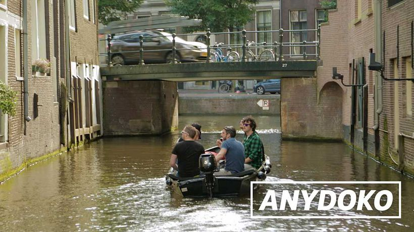 ANYDOKO Shorts - Boating In Amsterdam