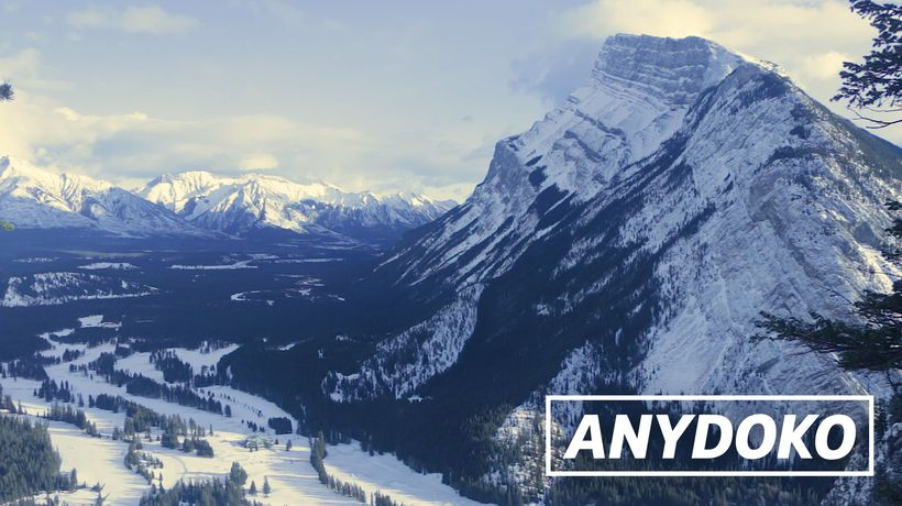 ANYDOKO Shorts - Winter Adventures In Banff