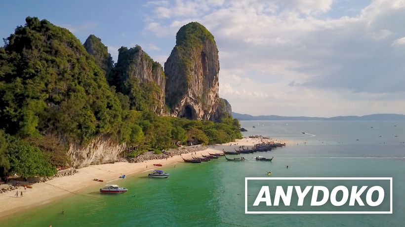 ANYDOKO Shorts - Railay Beach In Thailand