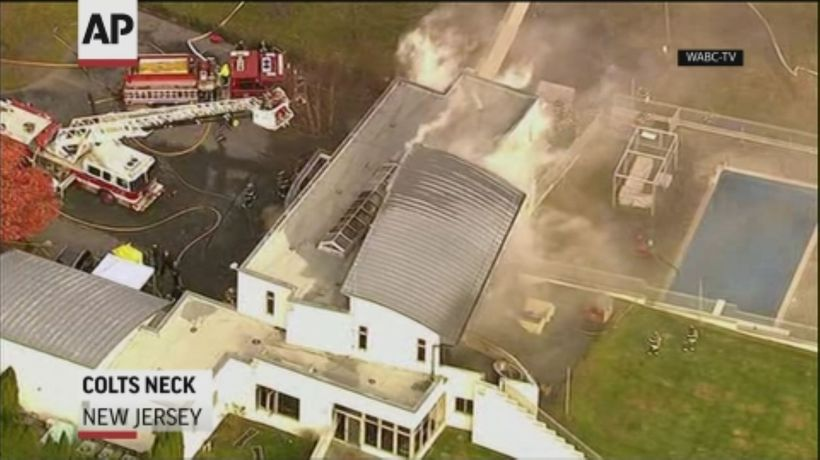 Officials: Multiple dead in NJ mansion fire