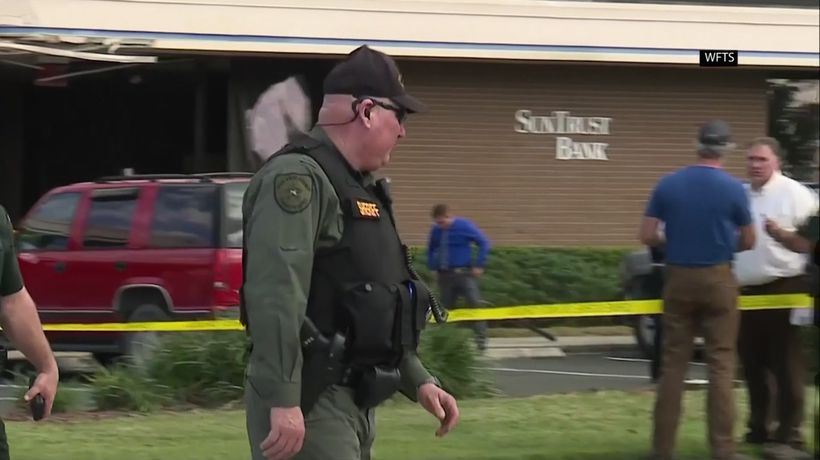 Police: 5 dead, gunman arrested in bank shooting