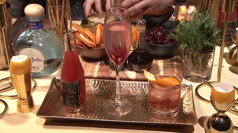 Styled after movie theatres, the Governors Ball at the Academy Awards has international drinks an...