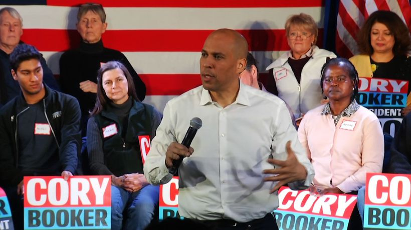 Sen. Booker makes first visit to New Hampshire
