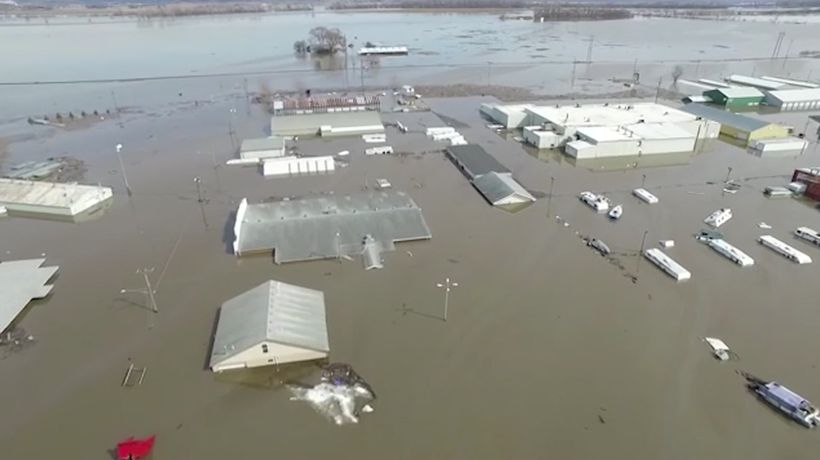 Neb. Gov.: Nearly $1.4 billion in flooding losses
