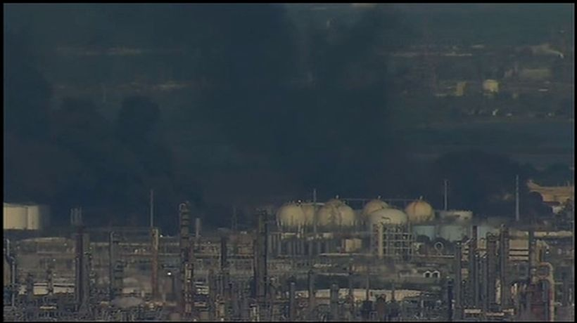 Fire reignites at Houston-area industrial plant