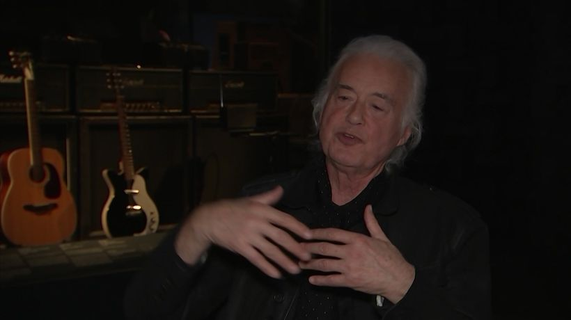 Jimmy Page on thinking past his musical limitations