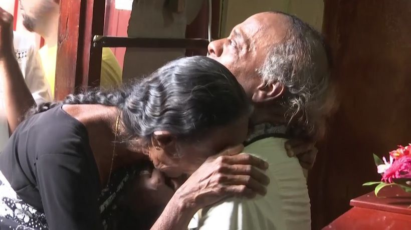 Family mourns loved ones killed in Sri Lanka blasts