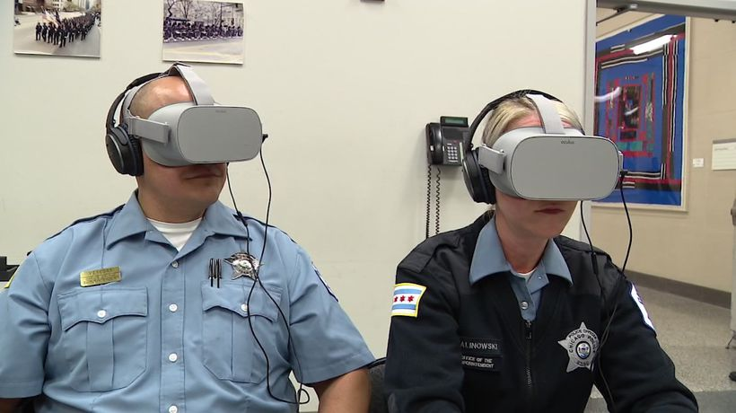 VR training helps police interact with autistic