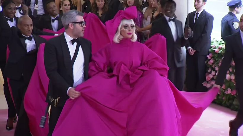 Brandon Maxwell talks undressing Lady Gaga at the Met Gala