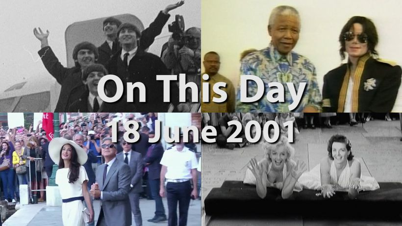 On This Day: 18 June 2001