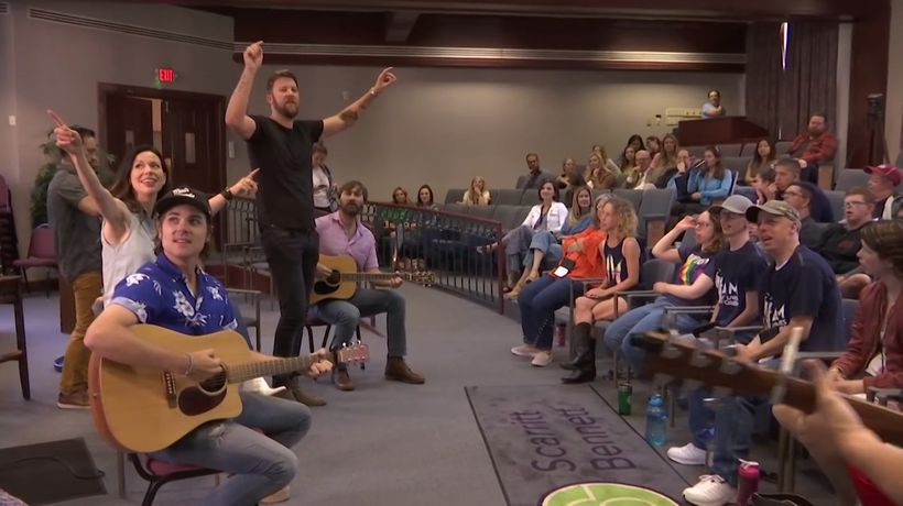 Lady A teaches songwriting for campers
