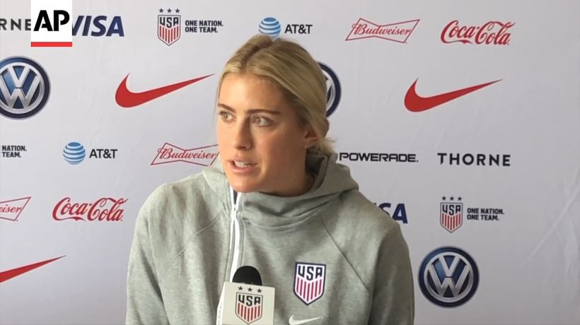 US women's soccer team readies for Sweden