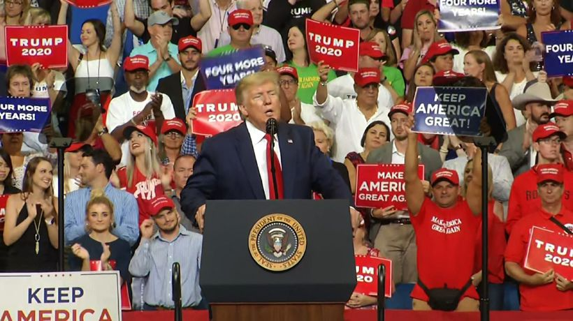 In 2020 kickoff, Trump promises cancer, AIDS cures