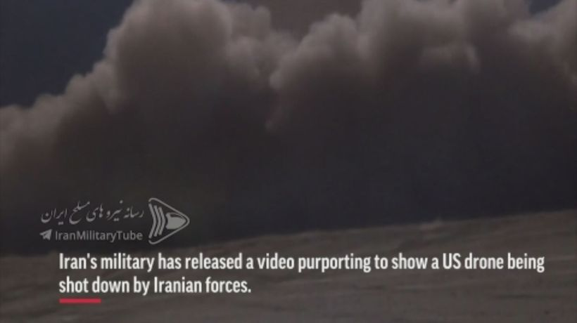 Iran releases video of purported US Drone downing